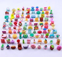 Unisex 2-4 Years Multicolor Mini Toy Fruit Shop Supermarket kin Model Action Figures Mini Anime Toys Figure Models Kids Gifts Party 3cm EC-156