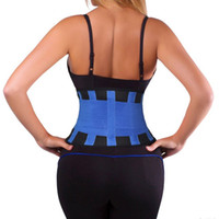 Wholesale Waist Trainer Cincher Man Women xtreme Thermo Power Hot Body Shaper Girdle Belt Underbust Control Corset Firm Slimming