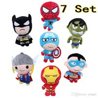 avengers figures set - The Avengers Plush Toys Marvel Heros Action Figures Captain America Iron Man the Hulk quot Action Figure Doll Toys Movie Carton hot in set