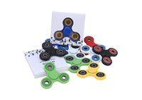 Wholesale Fidget Spinner toy finger spinner toy Hand tri spinner HandSpinner Decompression Anxiety Toys Fidget Toy Tri Spinner design LJJK658