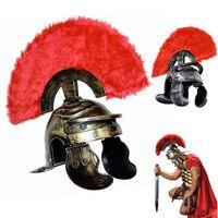ancient warriors - COSPLAY dance Ancient Rome Helmet Warrior Cap Spartacus hat
