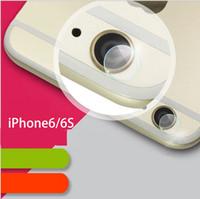 attached lens - Apple s lens protection film ring iphone6s camera lens protection film attached plus lens steel film