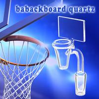 basketball glasses - Backboard Quartz Banger for Bowl Diameter mm Basketball glass bowl warter pipe for bowl bong