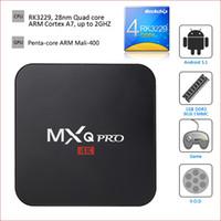 android for tv - 10PCS MXQ PRO Android Smart TV Box Quad Core Wifi Twitter Facebook K H Netflix Kodi Google Play Fully loaded iptv box for tv