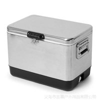 Ice Buckets & Tongs bars deep - Custom rotomolded ice cooler plastic ice box coolers Quart Steel Belted Cooler ice bar cold storage cabinet Wine Cooler deep freezer