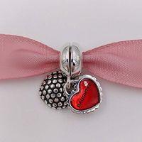 achat en gros de s charme européen-Fête des mères 925 Perles en argent sterling Mère Fille Son Dangle Charme Bracelet en forme de marque européenne 790950EN27 Cadeaux pour mères Bijoux