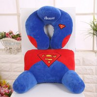 america memory - Hug Me The Avengers Captain America Superhero Thor Batman Plush Cushion Covers Head Pillow Waist Pillow for set ER