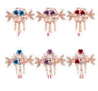Wholesale 1 Elegant Women Retro Vintage Pearl Butterfly Flower Hairpins Hair Clip Barrette Hair clamps Accessories