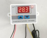 Wholesale AC V Digital LED Temperature Controller A Thermostat Control Switch Probe
