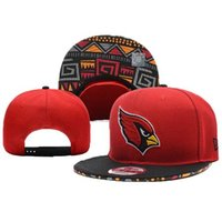 Wholesale Men Football Cardinals Hats Embroidered high quality Camouflage adn Red
