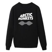 arctic monkeys clothing - men brand rock and roll band Arctic monkeys sweatshirts cotton O neck fleece Arctic monkeys hoodies clothing