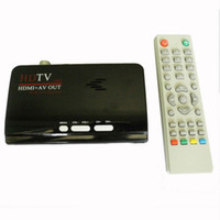 Cheap Wholesale-Digital Terrestrial HDMI DVB T T2 Protocol TV Box HDMI AV CVBS external TV Tuner Receiver With Remote Control for lcd monitor