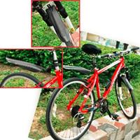 Wholesale Adjustable Mountain Bicycle Bike Front Rear Mud Guards Mudguard Fenders Set
