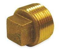 Wholesale 1 quot NPT pipe fitting brass fitting PSI Square Head Plug