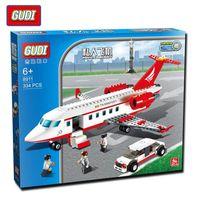 air bus models - GUDI Plane Toy Air Bus Model Airplane Building Blocks Sets Model DIY Bricks Classic Toys Compatible With Legoe