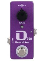 Wholesale Mini D250 Overdrive Guitar Effect Pedal And True Bypass