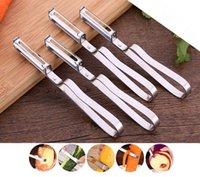 apple peelers - Fashion Hot Stainless Steel Cutter Vegetable Fruit Apple Slicer Potato Peeler Parer Tool