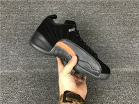 basketball max - New top version carbon fibre retro playoff low mens basketball shoes fashion low Grey Max Orange trainer sneakers size US7 US13