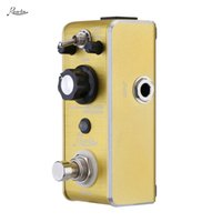 Wholesale High Quality Rowin LEF B Mini Portable Guitar Effect Pedal Exquisite Overdrive Pedal True bypass Durable Aluminium alloy