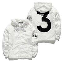 Wholesale US SIZE Jacket Men KANYE Hip Hop Windbreaker YEEZUS TOUR Jackets Men Women Streetwear Fashion Outerwear uniform coat