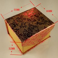 Wholesale Jewelry Box Ring Box Earrings Box Packing Gift Box