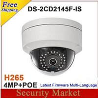 Wholesale Hikvision MP IP Camera DS CD2145F IS H265 IP network dome poe cameras audio MP DS CD2145F IS