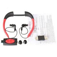 For Blackberry Waterproof Wireless 2016 Newest Waterproof bluetooth MP3 Music Player Underwater Swim Surfing Diving Neckband Sports Stereo Earphone Headset Headphone IPX8