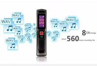 Wholesale 4GB GB AGC Dictaphone Digital Voice Recorder Pen Professional With MP3 Player Audio Recorder Recording SK
