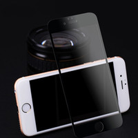 Wholesale Full screen Cover Tempered Glass Screen Protector Anti Scratch H Hardness Film For Apple iPhone s iPhone Plus