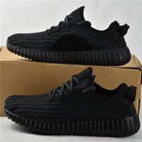 Flat yeezy boost 350 - with Box Adidas Yeezy Boost Pirate Black Moonrock Oxford Tan Turtle Dove Men Running Shoes Sneaker Basketball Shoes