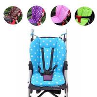 Wholesale Colorful Thick Baby Infant Stroller Seat Pushchair Cushion Cotton Mat Colors