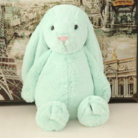 Wholesale Kids Toys Creative Dolls Bunny Soft Plush toys Rabbit toys Cute Long Ears bunny Easter Christmas valentine s day Gift cm