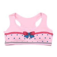 Wholesale New Fashion Girls Lovely Printing Underwear Vest Children Underclothes Sport Undies For Age