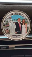 art house america - The President of the Unite State Make America Great Again Souvenir Coin Donald Trump Tower White House Melania Ivanka