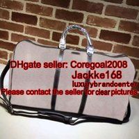 Duffel Bags Men European and American Style large business travel bag weekend duffle bag tote cross body famous brand Carry On Luggage GYM bag handbag 206500 146310 406380 50cm