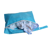 Tote Bag baby clothes dryer - New Solid Bags Useful Waterproof Reusable Zipper Baby Diaper Dry Bag Convenient Mummy Package Baby Clothes Pouch