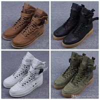air force canvas - 2017 Running Shoes For Men Woman Special Forces Air Force Black Gum Light Brown Faded Olive Beige Golden Linen Athletic Sneakers Boots