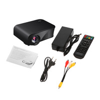 al por mayor portátil de medios digitales-S320 HD LED proyector LCD Mini proyectores portátiles 1080p Video Home Theater 1800 lúmenes TV Beamer HDMI VGA USB TF Multi-Media Player 1pcs