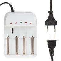 Wholesale 4 Slot Gradually Adjustable Universal Battery Charger with US EU AC Plug for Ni MH Ni CD Ni Zn Lithium CHA_376