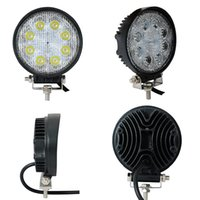 60 Degree 2000lm 4 Hot sale square 4 inch 24w led work light IP68, flood   spot beam , led driving light for trucks, tractor