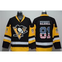 apparel brands usa - Penguins Kessel USA Flag Hockey Jereys Premier Jersey Brand Hockey Apparel Professional Hockey Uniform New Style Fashion Jerseys
