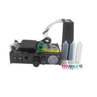 al por mayor manual de soldadura-Negro FEITA FT-982 Máquina de dispensador de pasta de soldadura semiautomática con aplicación manual y pedal