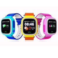 alarm wrist watches - Q90 Kids Smart Watch quot Colorful Touch TFT screen GPS LBS Wifi G sensor Children Smart Watch for iOS Android Alarm