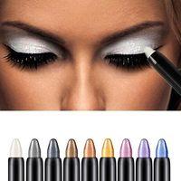 Wholesale pc Beauty Highlighter Eyeshadow Pencil Cosmetic Glitter Eye Shadow Eyeliner Pen