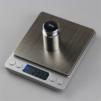 accuracy bathroom scales - 2000g g Digital Weight Balance Libra kg g Electronic Kitchen Scale Hight Accuracy Jewelry Food Diet Scale With retail packaging