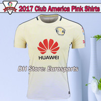 TOP 2016 2016 LIGA MX Club América camisetas de fútbol 100 años en casa Tercera Negro Centenario Rosa 16 17 SAMBUEZA camiseta de fútbol