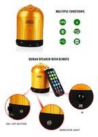 Wholesale Mekka Dome Shape Islamic Quran Remote Control Speaker Tafsir LED Coran Player