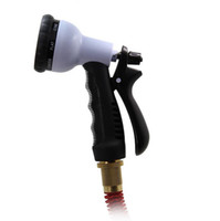 Wholesale FT FT FT FT Expandable Flexible Garden Hose Pipe Spray Gun For Water Flowers Valve and Spray Nozzle