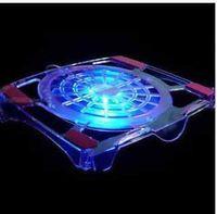 big laptop cooler - Laptop Computer inch big fan ABS Transparent radiator cooling fan