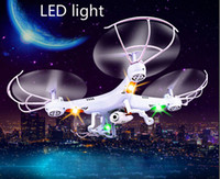 Wholesale Hot LED Lightning delivery Remote Control Toys Drone Quadcopter Remote Helicopter drone with camera New